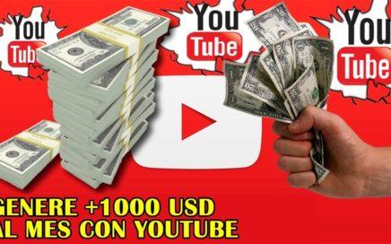 Curso ganar dinero con youtube 100% garantizado