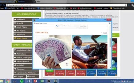 DameFans-Gana dinero online 100% Recomendado para Paypal 2018