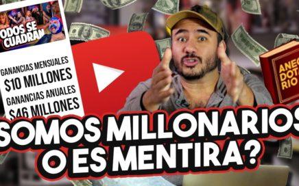 Datos reales de cuánto dinero se gana en Youtube #Anecdotario