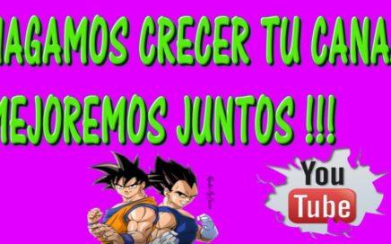 DEJA TU CANAL EN LOS COMENTARIOS !!!  ESTARA EN EL PROXIMO LIVE !!!