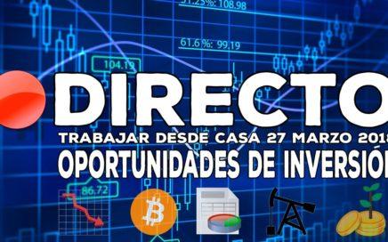 Directo: Oportunidades de inversión en bolsa - Facebook, Bitcoin, Tesla, Petro, Dia, Ibex 35...