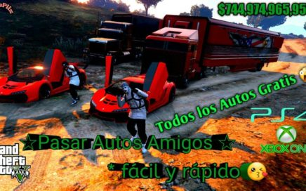 * Duplicar Autos* pasar autos Facil Dinero Infinito 100% Funcionando Gta5 Online xbox One PS4