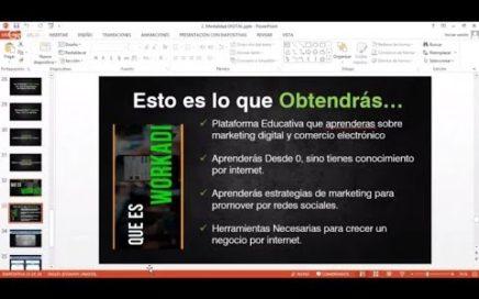 [EN VIVO] Mentalidad Digital Para Vivir 100% de Internet | PARTE 2 | Workadi Es Confiable!