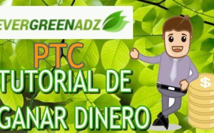 EverGreenADZ   Gana Dinero Gratis Viendo Anuncios De Publicidad.