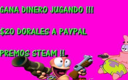 GANA $DINERO JUGANDO EN INTERNET !! PREMIO 20 DOLARES A PAYPAL [MARZO 2018]