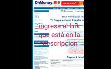 Ganar dinero con OhMoney.BID