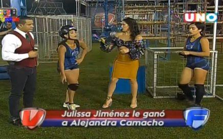 JULISSA JIMENEZ LE GANO A ALEJANDRA CAMACHO