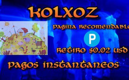 kolzox Pagando instantáneamente sin invertir Gana dinero para payeer gratis sin invertir