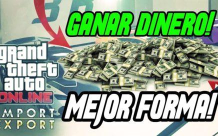 LA MEJOR MANERA DE GANAR DINERO EN GTA 5 ONLINE / TenElite 150