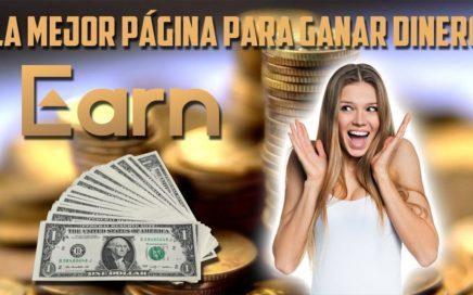 LA MEJOR PAGINA PARA GANAR DINERO POR INTERNET CON CRIPTOMONEDAS 2018