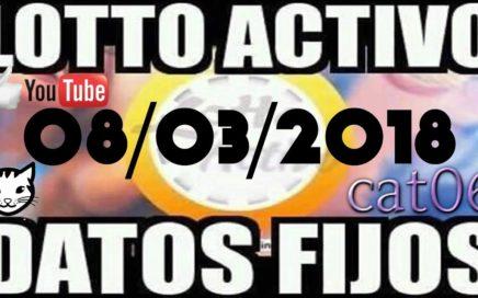 LOTTO ACTIVO DATOS FIJOS PARA GANAR  08/03/2018 cat06