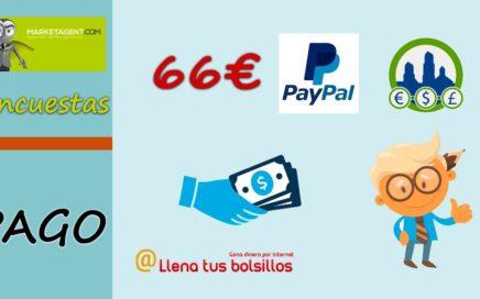 MarketAgent paga 66€ | Pagos Derrota la Crisis y como trabajar para ganar dinero
