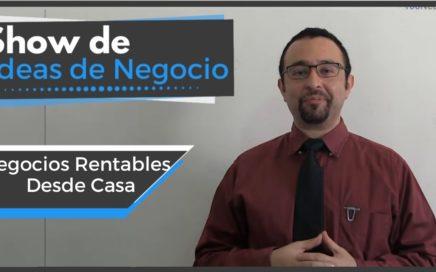 Negocios Rentables Desde Casa  | Show De Ideas De Negocio