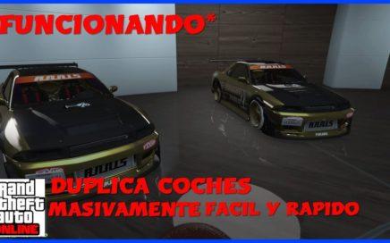 *NUEVO TRUCO*-TRUCO PARA DUPLICAR COCHES MASIVAMENTE Y CONSEGUIR DINERO-FACIL Y RAPIDO-GTA V ONLINE