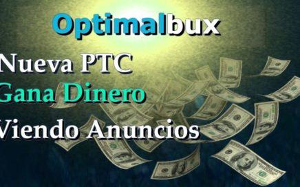 Optimalbux Explicación completa|NUEVA ptc Gana dinero Viendo anuncios|