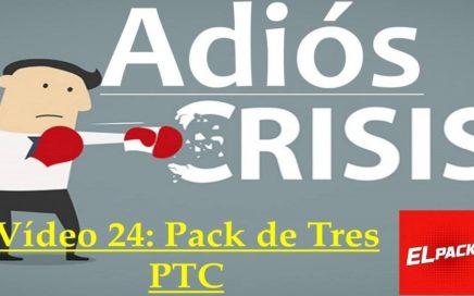 Proyecto Adiós Crisis Video24: Pack de Tres Páginas PTC similares a Uniclique
