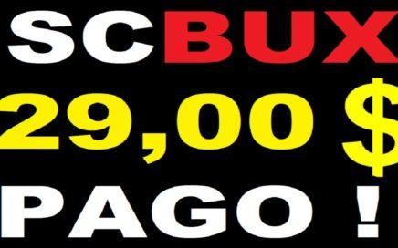 ScBux como ganar dinero - Pagos de 29,00 dólares / Membresia ultimate gratis