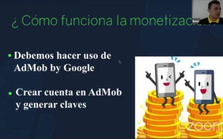 Webinar: Aprende a ganar dinero con tus aplicaciones Android | Next U