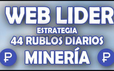 WEBLIDER | 44 RUBLOS DIARIOS | ESTRATEGIA