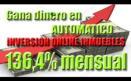 110 $ dolares GRATIS- Gana Dinero en AUTOMÁTICO - Inversión online en inmuebles -