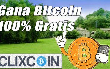 ClixCoin Tutorial Completo | Nueva Página para Ganar Bitcoin Gratis | Gokustian