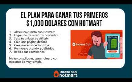 Como Ganar Dinero Con Hotmart | Ganar Tus Primeros $1,000 Dolares En Internet