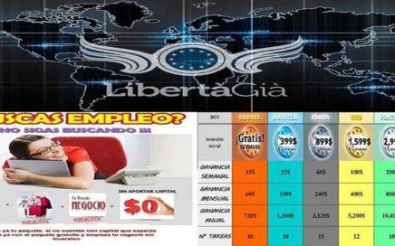 Como ganar dinero con LibertaGia!! 2014!!