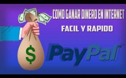 COMO GANAR DINERO EN  PAYPAL!!! 50 EUTOS AL DIA. FUNCIONA!!