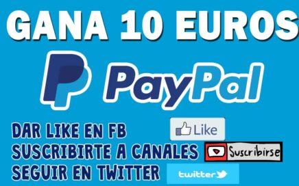 ¡¡Como ganar dinero en paypal (Fan por Fan) 10 Euro!!   2018