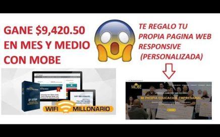 COMO GANAR DINERO POR INTERNET 2018 | TRABAJO DESDE CASA | MOBE EN ESPAÑOL