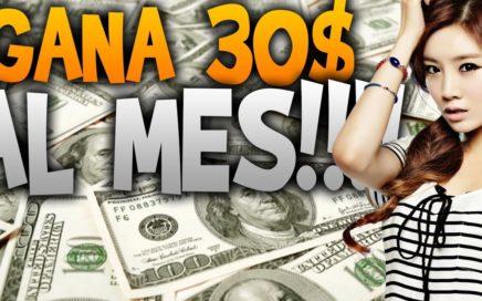 como GANAR DINERO por internet 30$ al mes sin invertir!!! NO CREERÁS LO QUE PASA