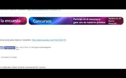 Gana dinero Online 450 euros mensuales con prueba de pago