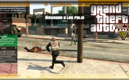 GTA 5 Online HD - ¿¡GANAR DINERO MATANDO POLICÍAS!? + ¡NUEVO LOQUENDO!