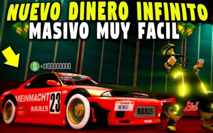 GTA 5 ONLINE - TRUCO DINERO INFINITO - DUPLICAR AUTOS MASIVO - GTA 5 1.43 1.000.000 CADA 1 MINUTO