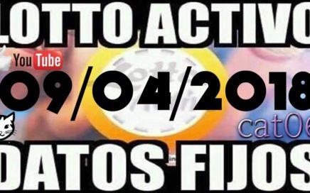 LOTTO ACTIVO DATOS FIJOS PARA GANAR  09/04/2018 cat06