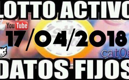 LOTTO ACTIVO DATOS FIJOS PARA GANAR  17/04/2018 cat06