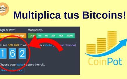 Mejor Estrategia Coinpot para Ganar Bitcoins Gratis: Nuevo multiplicador de Bitcoins!! HD (2018)
