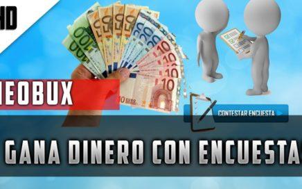 MEJOR PAGINA DE encuestas del Mundo para GANAR DINERO ( NEOBUX)