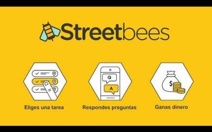 Mejores App para Ganar Dinero 2018 FIABLE-StreetBees-[Pago Por PayPal]