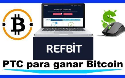RefBit   Gana Bitcoin Gratis Por Internet