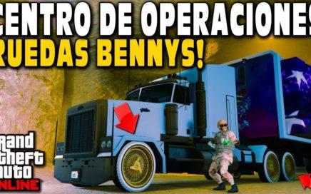 RUEDAS BENNY'S EN MOC - NUEVO GLITCH EN GTA 5 ONLINE - CÓMO OBTENER MOC MODDED EN GTA 5 1.43