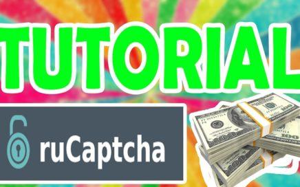 TUTORIAL GANAR DINERO FACIL RELLENANDO CAPTCHAS, RUCAPTCHA! MUCHO DINERO!