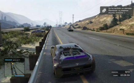 Carrera Troll en GTA V Online gana dinero y RP