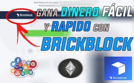 Como Ganar Dinero Fácil Y Rápido Por Internet 2018 Gracias a BrickBlocks   SOLO POR POCO TIEMPO