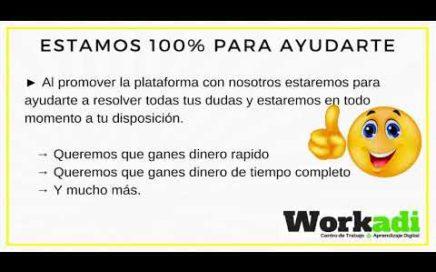 ¿CUANTO DINERO PUEDO GANAR CON WORKADI?| PLAN DE PAGOS GRATUITO Y VIP