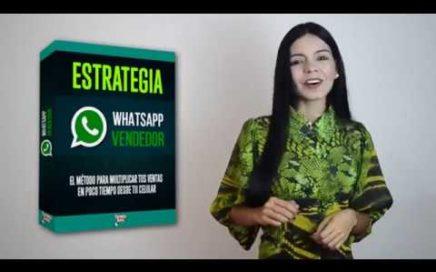 Estrategia WhatsApp Vendedor ¿El Mejor Curso Para Ganar Dinero Con WhatsApp?