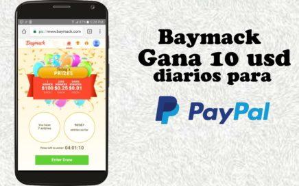 GANA 1 USD DIARIO CON BAYMACK + Prueba de pago