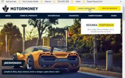 Gana 500 rublos Por Solo Registrarte Motormoney  [ Dinero Online  ]