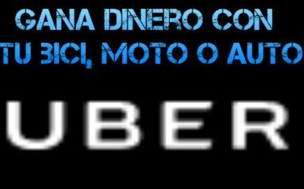 Gana dinero con Uber EATS [BICI, MOTO o AUTO]