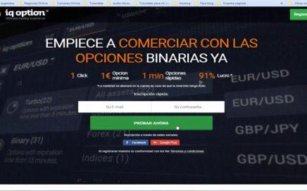 IQ OPTION- De 10$ a 40$ EN UN DÍA-Dinero Extra RD